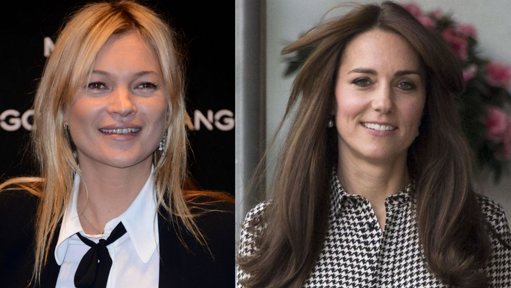 Kate Middleton Als Style Vorbild Kate Moss Kopiert Neue Frisur
