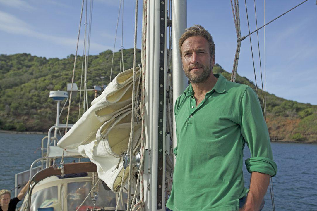 Abenteurer Ben Fogle (Bild) trifft Auswanderer Rick und seine Freundin in Französisch-Polynesien. Das französische Überseegebiet im Südpazifik beste... - Bildquelle: Renegade Pictures