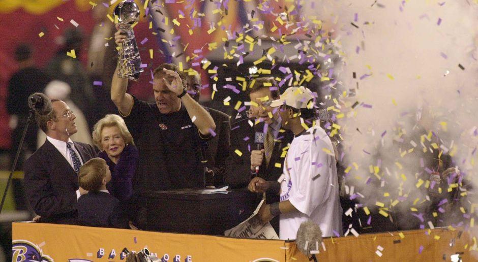 Saison 2000: Baltimore Ravens  - Bildquelle: Getty Images