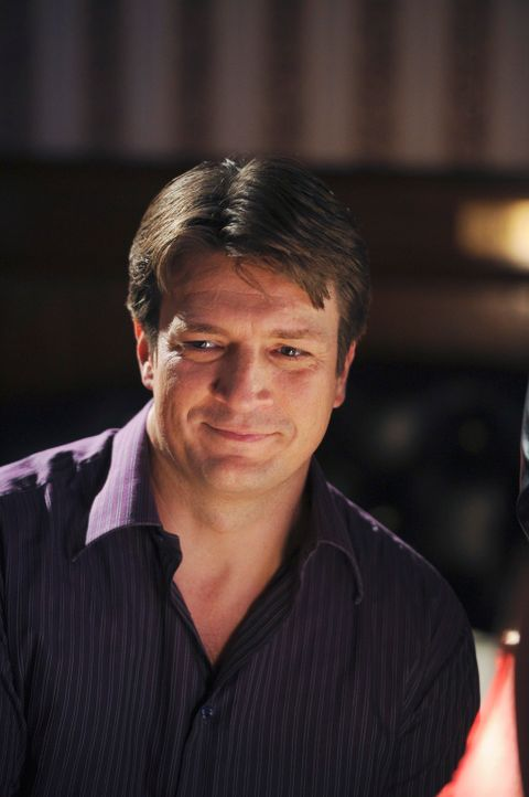 Hatte er mal wieder den richtigen Riecher? Richard Castle (Nathan Fillion) - Bildquelle: 2010 American Broadcasting Companies, Inc. All rights reserved.