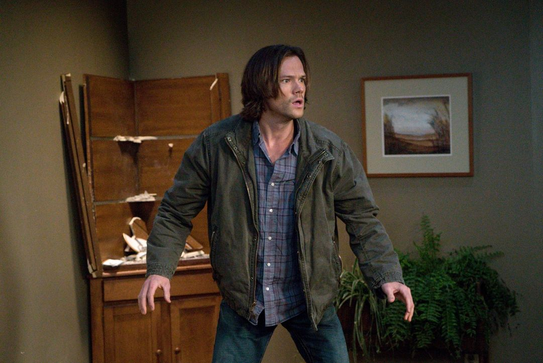 Sam (Jared Padalecki) hat weiterhin mit Visionen zu kämpfen und bittet erneut Gott um Rat - sehr zum Missfallen seines Bruders ... - Bildquelle: 2014 Warner Brothers