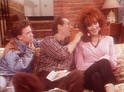 Eine schrecklich nette Familie - (v.l.n.r.) Bud (David Faustino) und Al (Ed O...