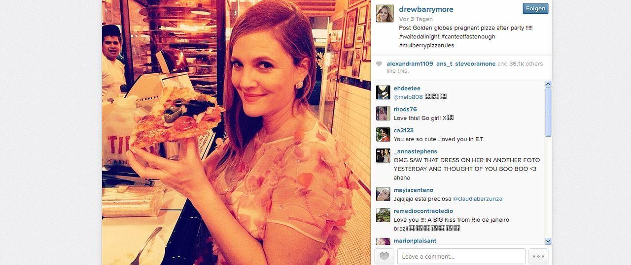 Drew-Barrymoore-14-01-16-instagram-com - Bildquelle: Drew Barrymoore/instagram.com