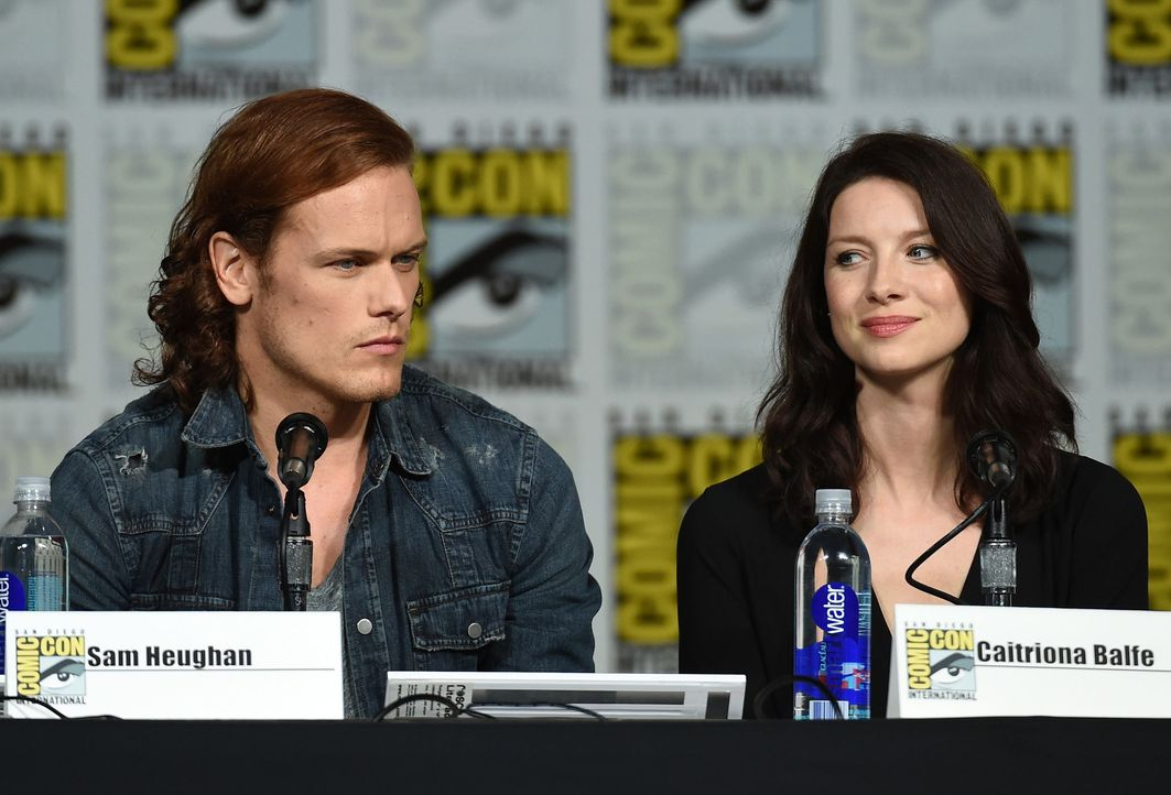 Comic-Con-2015-12-Outlander-balfe-heughan-getty-AFP - Bildquelle: getty-AFP