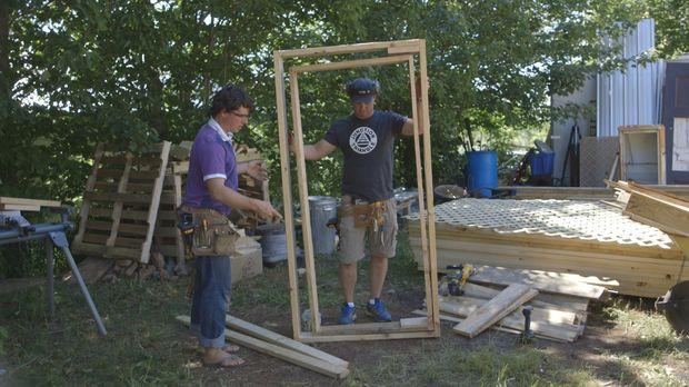 Eine neue spannende Herausforderung wartet auf Andrew (l.) und Kevin (r.) Buc...