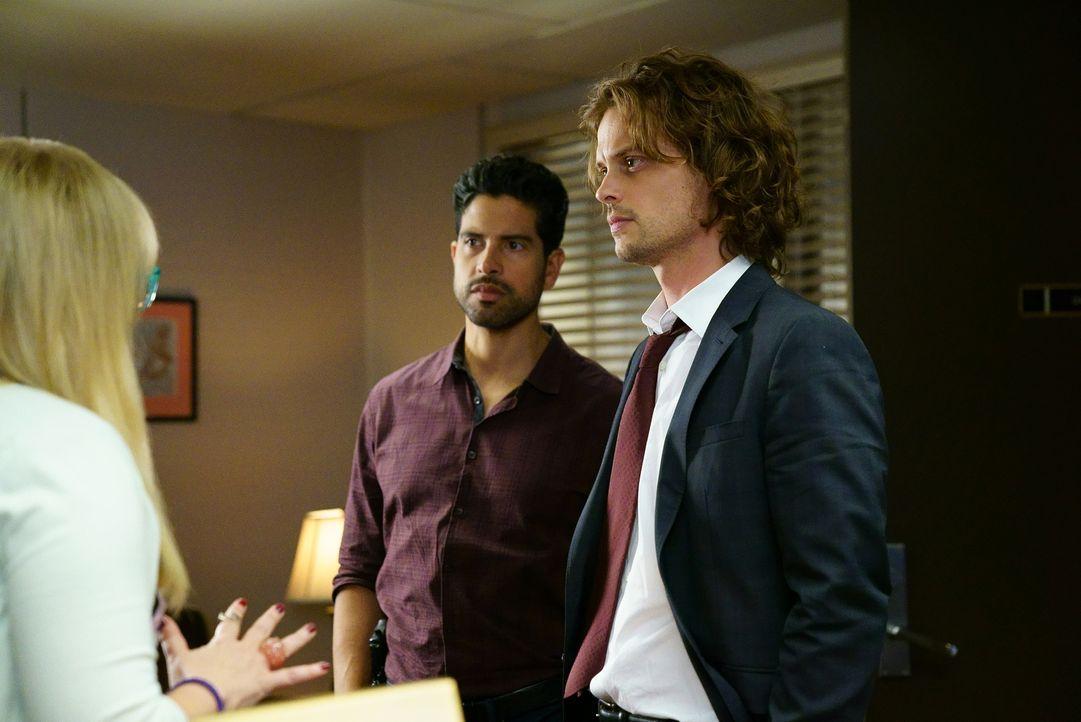 Nachdem Rossi bei einem Autounfall schwer verletzt wird, weist er Spencer (Matthew Gray Gubler, r.) an, wieder ins Team einzusteigen. Er wird gebrau... - Bildquelle: Sonja Flemming ABC Studios