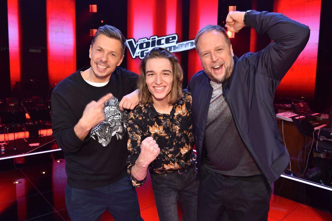 TVOG2018_Halbfinale_Michi,Eros,Smudo - Bildquelle: ProSieben/SAT.1/Andre Kowalski