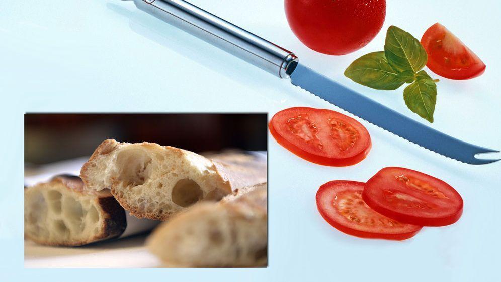 Ciabatta-Tomaten