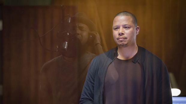 Gerät während Tonaufnahmen mit Jamal aneinander: Lucious (Terrence Howard) .....
