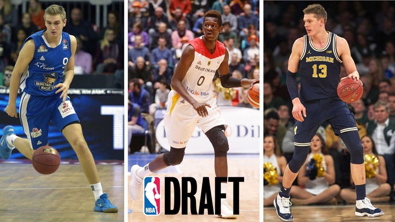 NBA Draft 2018: Das sind die deutschen Talente