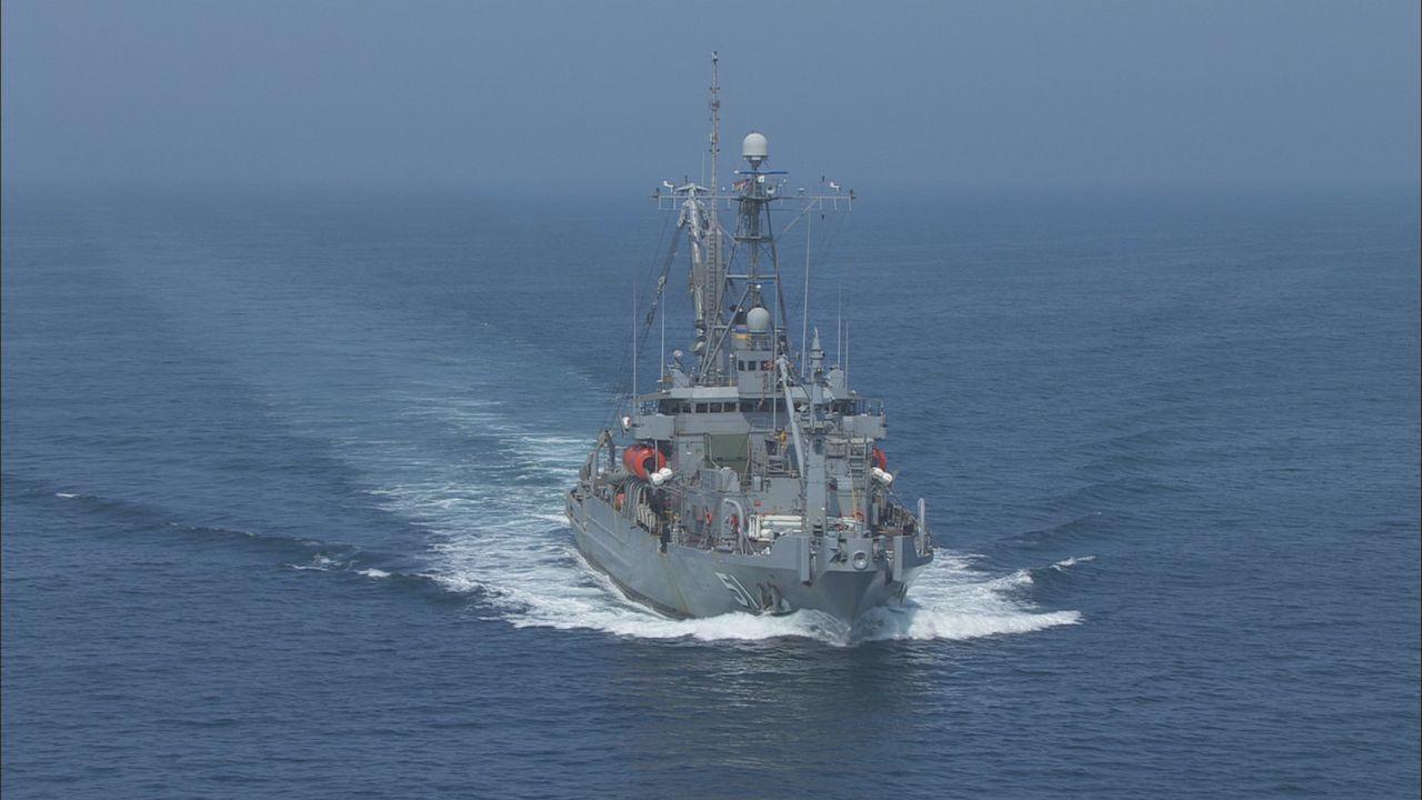 Rettungsanker: Die USNS Grasp wird zur Bergung von abgestürzten Flugzeugen, Schleppen von gesunkenen Schiffen oder Räumung von Schutt in Folge einer... - Bildquelle: Exploration Production Inc.