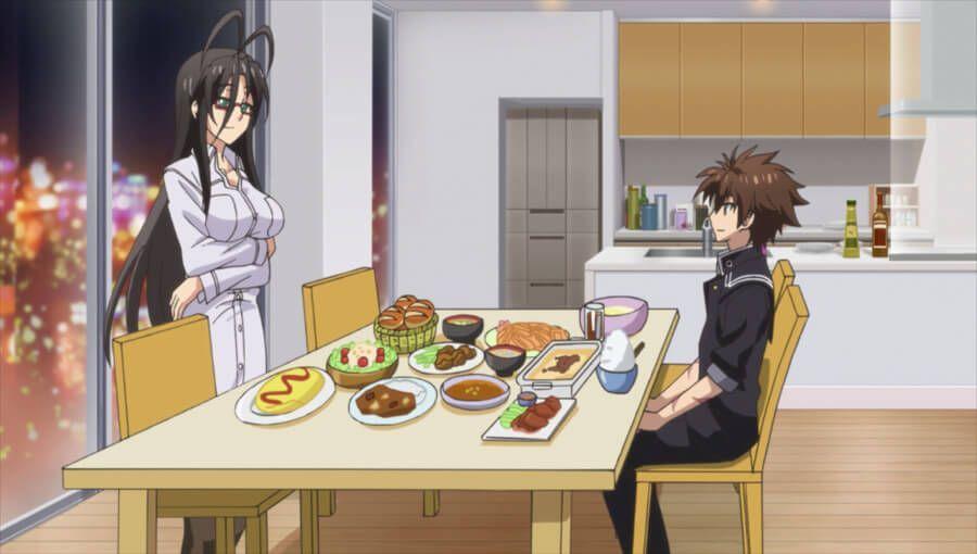 Will die Lehrerin Basara einfach nur mal was Gutes zu Essen machen?