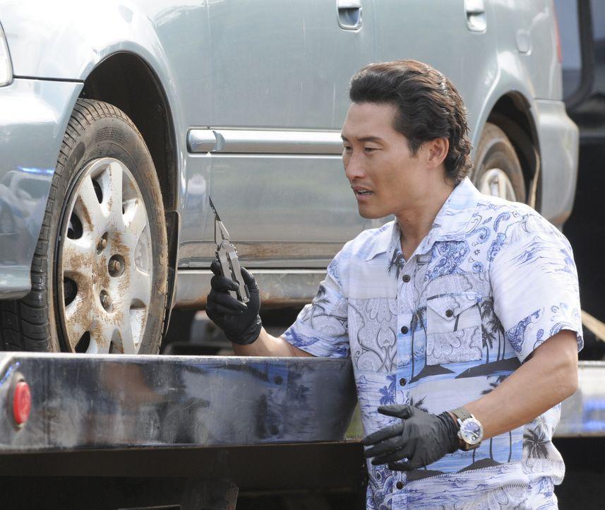 Bei den Ermittlungen in einem neuen Fall: Chin (Daniel Dae Kim) ... - Bildquelle: TM &   CBS Studios Inc. All Rights Reserved.