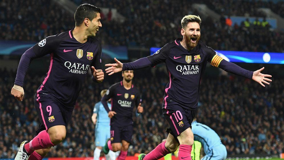 Das Gesicht des Barca-Angriffs: Luis Suarez (l.) und Lionel Messi - Bildquelle: 2016 Getty Images