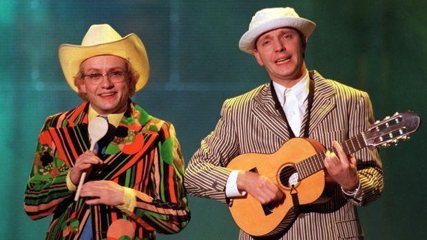 Zusammen mit Olli Dittrich sorgt Wigald Boning für zahllose Lacher beim Publi...