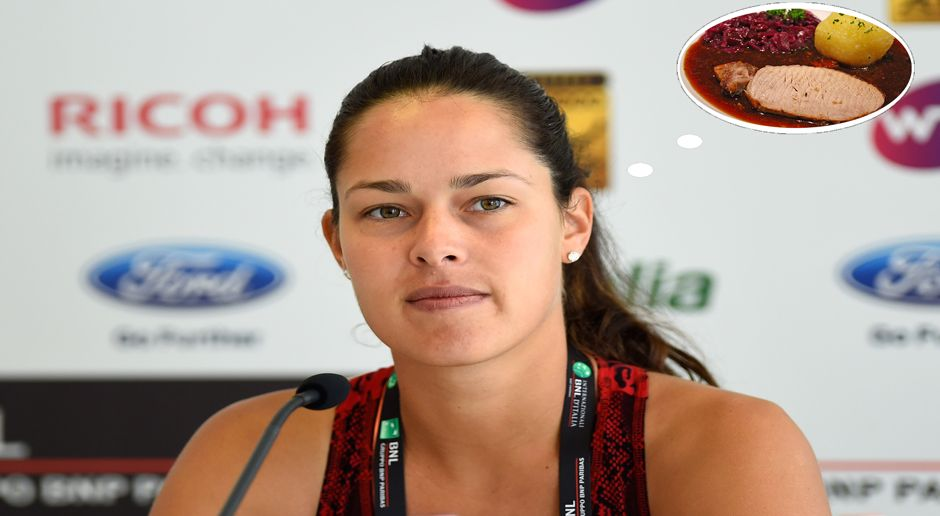 Ana Ivanovic_Schweinebraten - Bildquelle: 2015 Getty Images