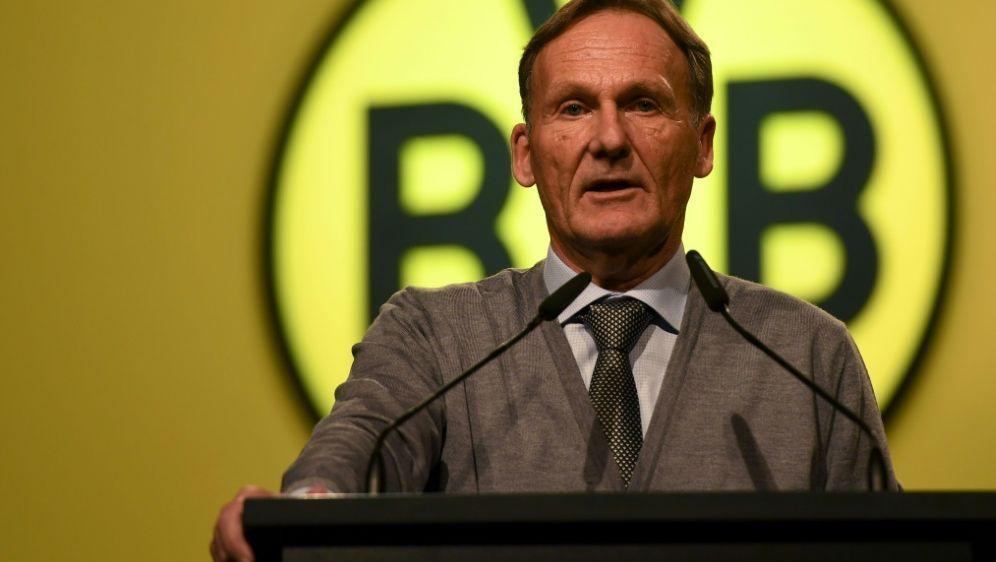 Borussia Dortmund verlängert mit Hans-Joachim Watzke - Bildquelle: AFPSIDPATRIK STOLLARZ
