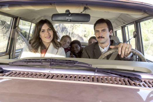 Thanksgiving steht vor der Tür: Jack (Milo Ventimiglia, r.), Rebecca (Mandy M...
