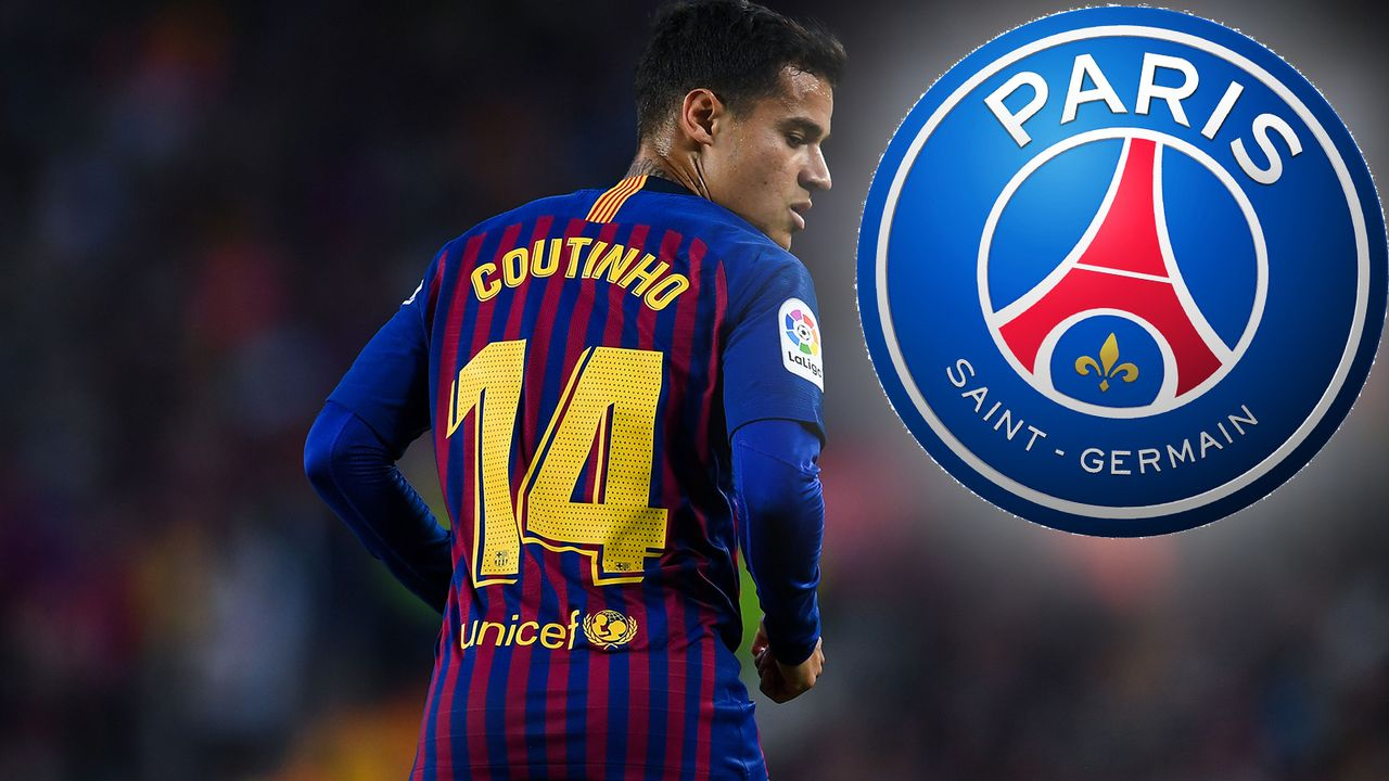 Philipe Coutinho zu Paris Saint-Germain - Bildquelle: 2018 Getty Images