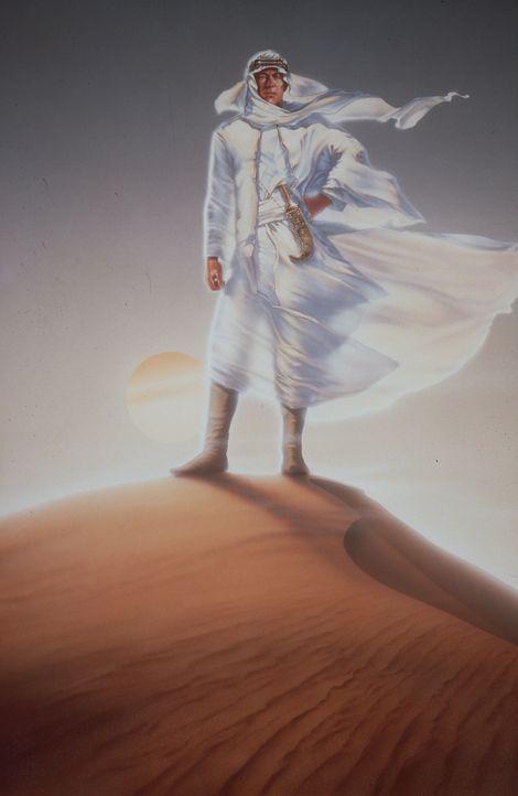 Der charismatische, tollkühne Lawrence (Peter O'Toole) reist nach Arabien, um die untereinander verfeindeten Stämme zu einer Armee zusammenzuschweiß... - Bildquelle: Columbia Pictures
