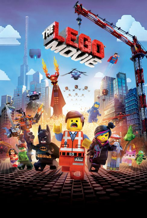 THE LEGO MOVIE - Artwork - Bildquelle: 2014 Warner Brothers