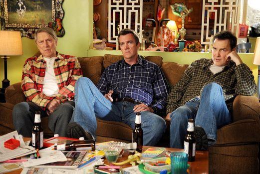 The Middle - Die Heck-Männer haben eins gemeinsam: Big Mike (John Cullum. L.)...