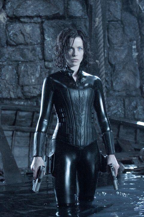 Jetzt ist Schluss mit lustig: Vampirin Selene (Kate Beckinsale) ... - Bildquelle: Sony Pictures Television International. All Rights Reserved.
