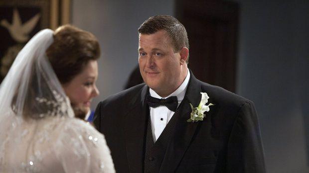 Endlich ist der Tag gekommen. Die große Hochzeit von Mike (Billy Gardell, r.)...
