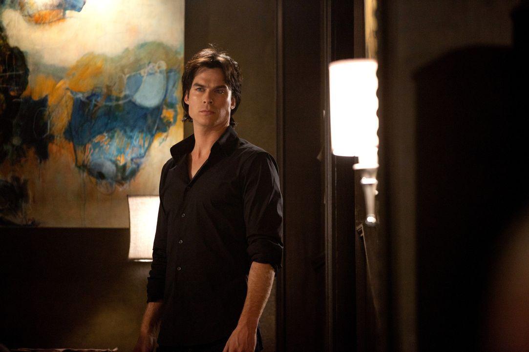 Auf der Suche nach seinem Bruder: Damon Salvatore (Ian Somerhalder) - Bildquelle: © Warner Bros. Entertainment Inc.