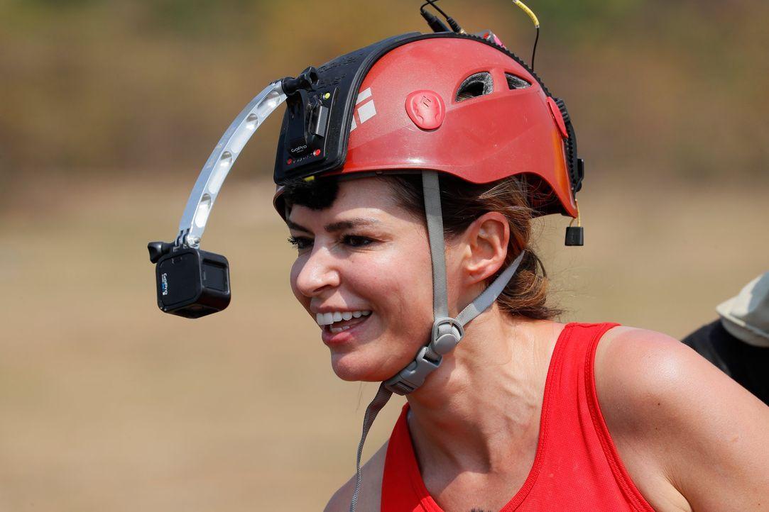 Global Gladiators - Sabia Boulahrouz - Bildquelle: ProSieben/Richard Hübner