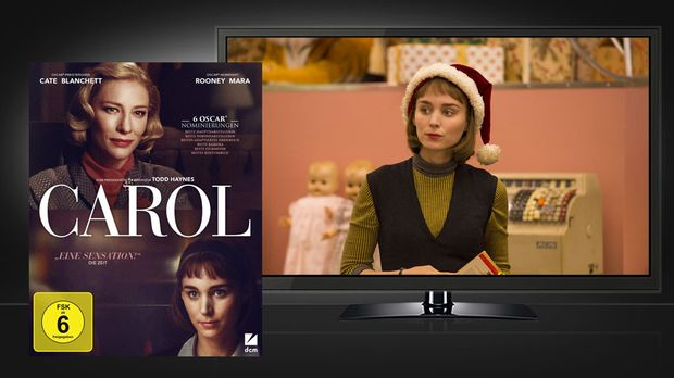 Carol - Blu-ray und Szene © DCM - Universum Film