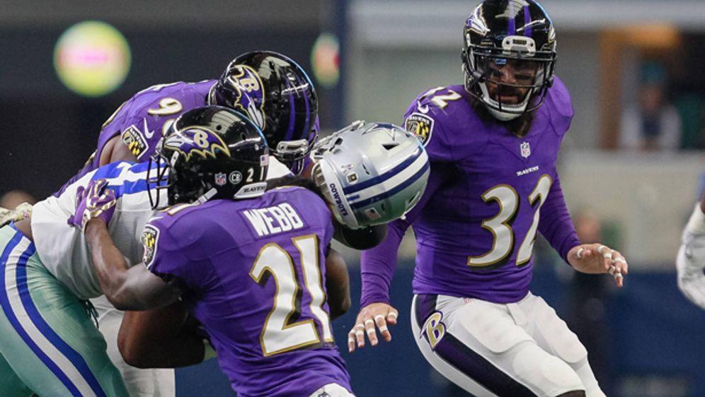 Die NFL hat eine neue Helmet-Hit-Regel verabschiedet. - Bildquelle: imago/Icon SMI