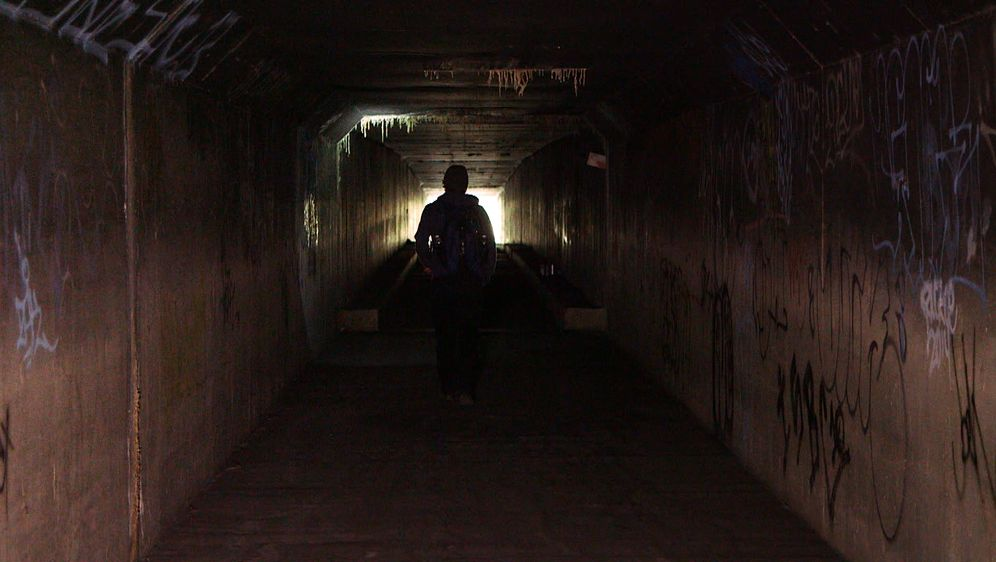Tunnelmenschen in Las Vegas