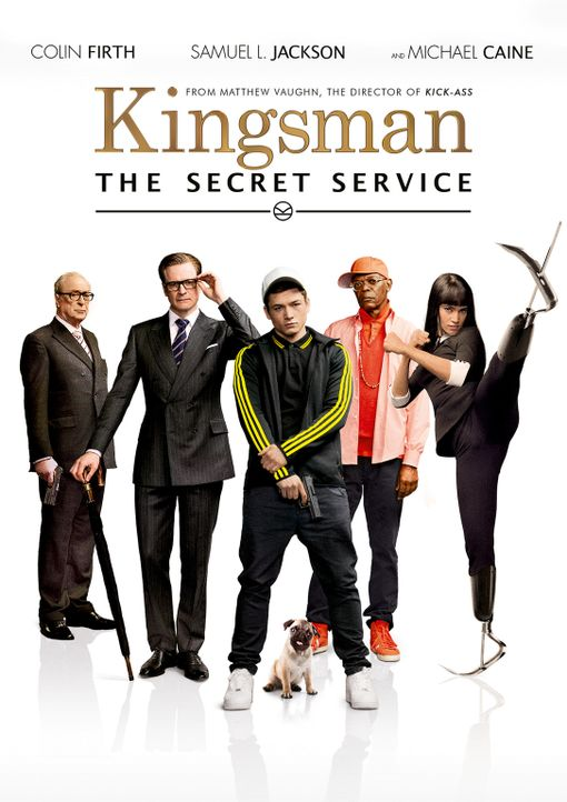 KINGSMAN: THE SECRET SERVICE - Plakat - Bildquelle: 2015 Twentieth Century Fox Film Corporation. All rights reserved.