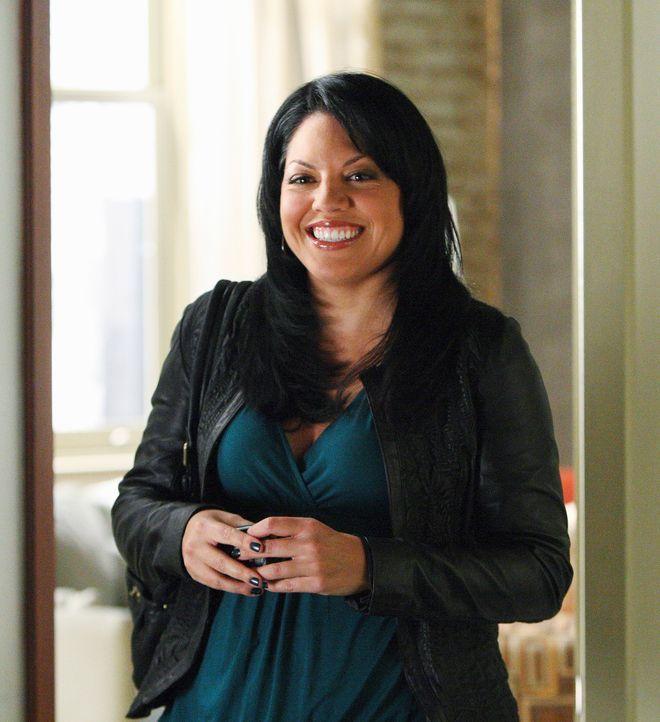 Findet Marks Sexunfall etwas amüsant: Callie (Sara Ramirez) ... - Bildquelle: Touchstone Television