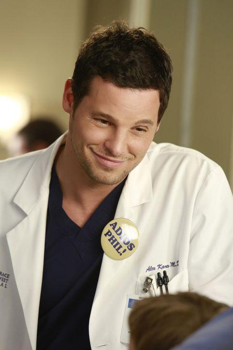 Dr. Alex Karev (Justin Chambers) kann sehr gut mit Kindern umgehen. Sein neuester Patient weiß seine liebevolle Art zu schätzen. Ihm muss ein gro - Bildquelle: ABC Studios