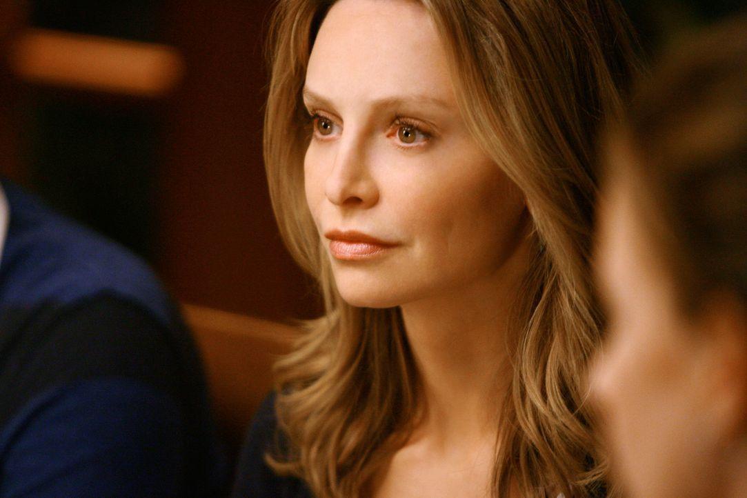 Verfällt nach der gescheiterten Adoption in eine Depression: Kitty (Calista Flockhart) ... - Bildquelle: 2008 ABC INC.