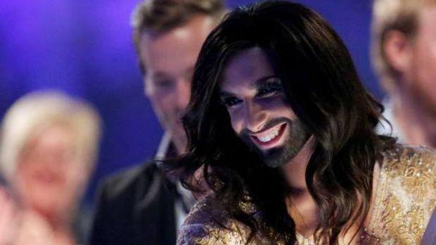 """Conchita Wurst vor """"ESC 2014"""": Mit nacktem Popo in verrücktem Kunst..."""