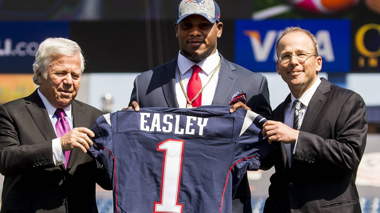 Dominique Easley (New England Patriots, 2014 an 29. Stelle) - Bildquelle: imago/ZUMA Press