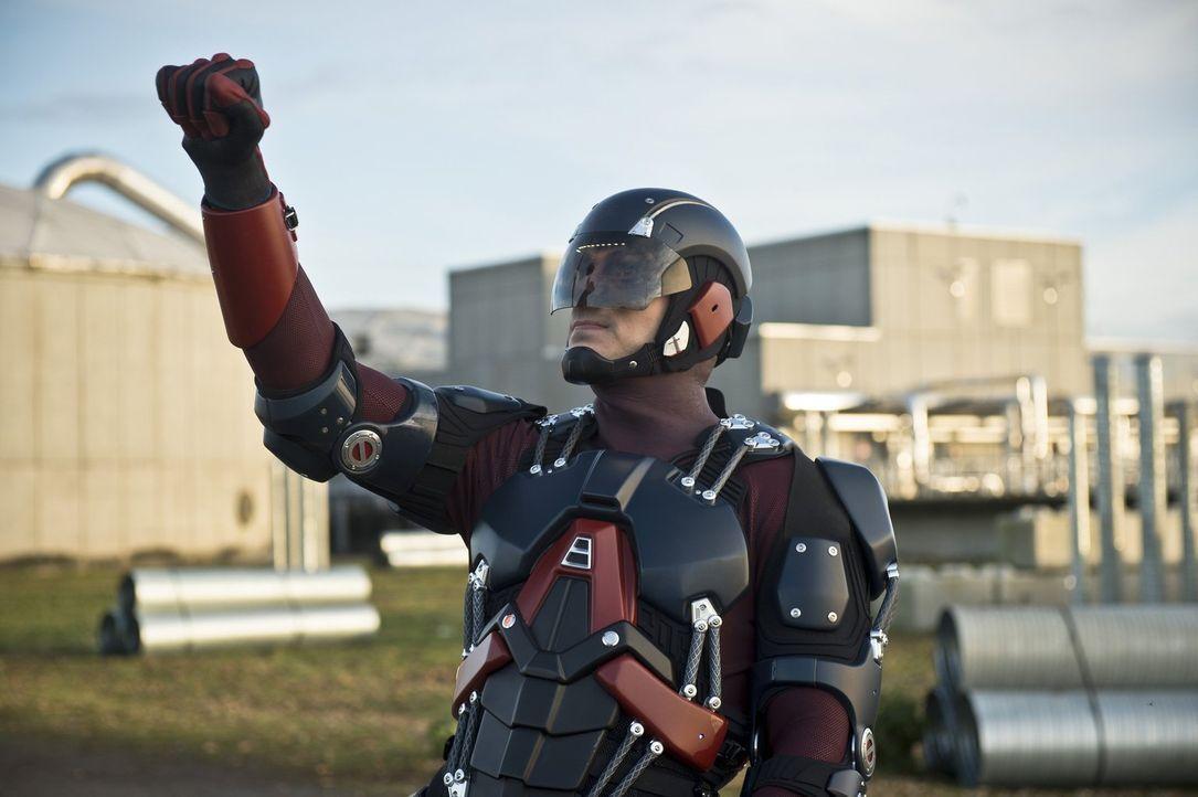 Noch ahnen weder Ray alias Atom (Brandon Routh), noch die anderer Teammitglieder, dass sie mit ihrem Besuch im Jahre 2147 mehr Schaden als Nutzen an... - Bildquelle: 2015 Warner Bros.