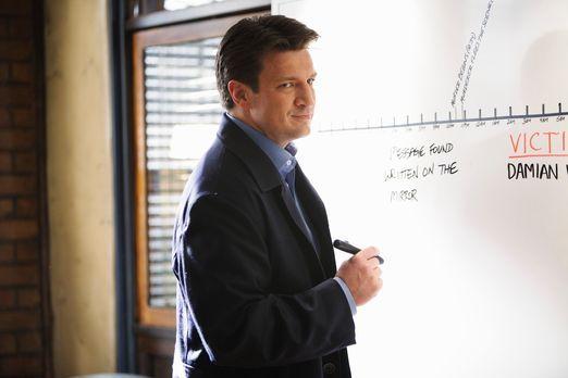 Castle - Ein neuer Fall wartet auf den Schriftsteller Richard Castle (Nathan...