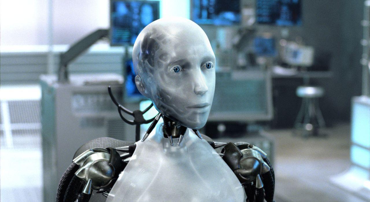 Detective Del Spooner verdächtigt sogar einen Robot, der sich selbst Sonny nennt, Dr. Lanning getötet zu haben. Dies würde jedoch bedeuten, dass der... - Bildquelle: 2004 Twentieth Century Fox Film Corporation. All rights reserved.