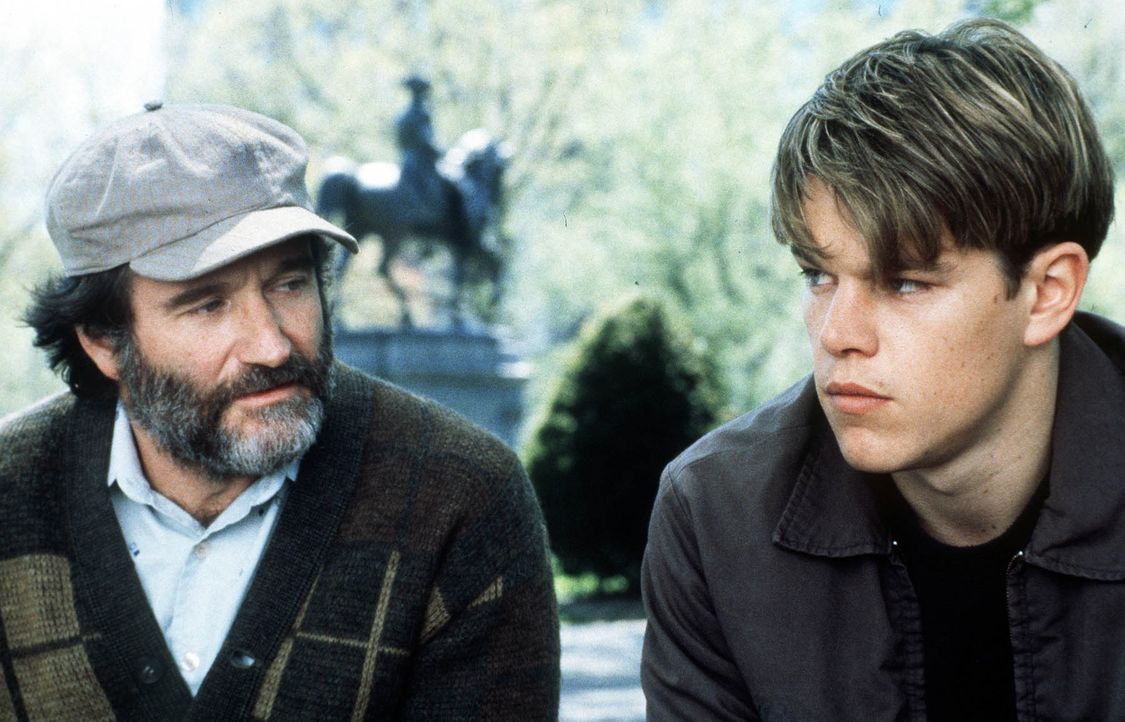 Robin-Williams-Matt-Damon-Filmszene-Good-Will-Hunting-dpa - Bildquelle: dpa