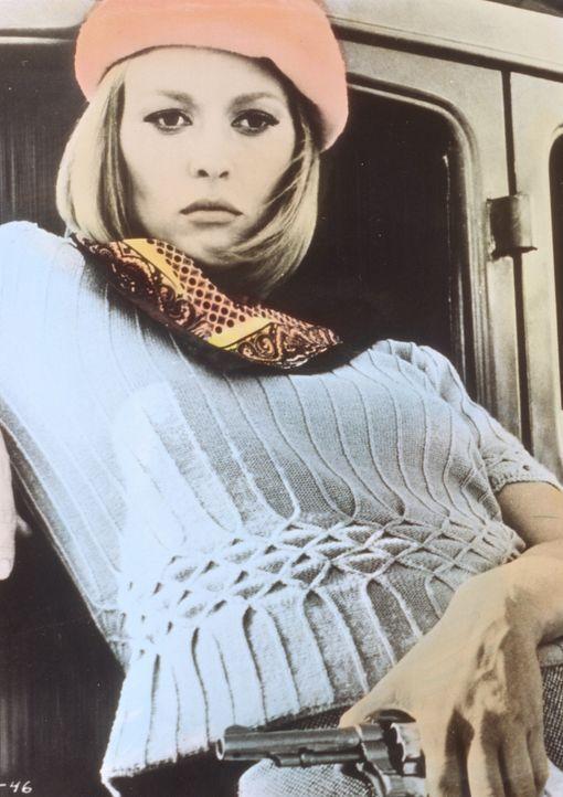 Die Kleinstadt-Kellnerin Bonnie Parker (Faye Dunaway) hat ihr eintöniges Leben satt und schließt sich dem Ganoven Bonnie an ... - Bildquelle: Warner Bros.
