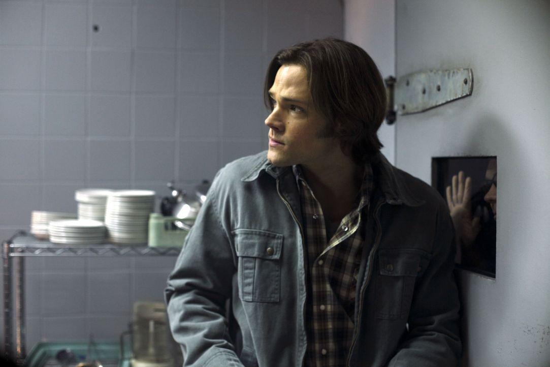 Die Götter versammeln sich in einem Hotel und locken Sam (Jared Padalecki) und Dean in die Falle ... - Bildquelle: Warner Brothers
