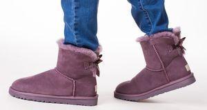 Lammfellstiefel mögen warm und bequem sein, vielen Männern sind sie allerding...