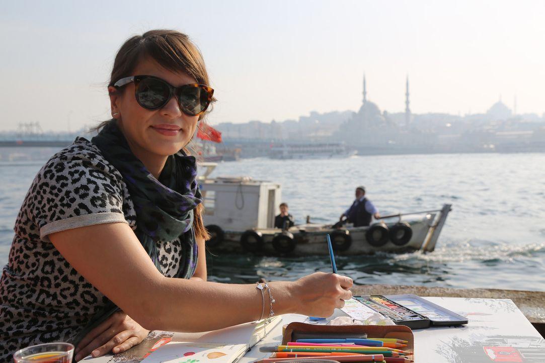 In Istanbul wird Rachel an jeder Ecke inspiriert ... - Bildquelle: Richard Hill BBC 2014