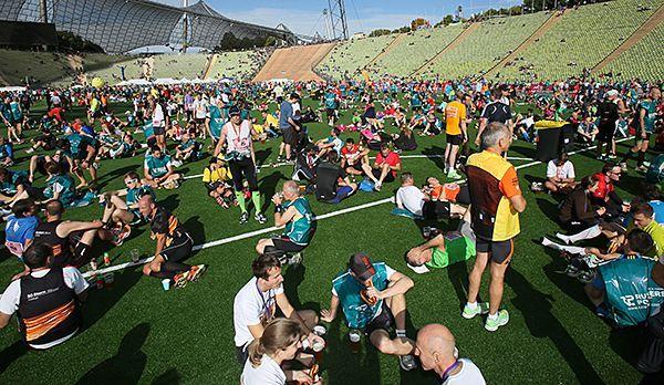 Das Olympiastadion als Höhepunkt - Bildquelle: runabout MÜNCHEN MARATHON