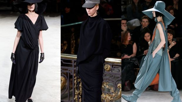 Tief sitzende Hüte sind der Mode-Trend diesen Sommer. Je nach Gesichtsform un...