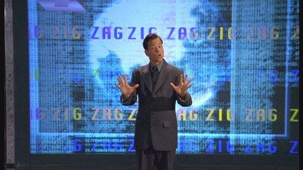 Cliff (Frank Whaley) hat das Zig-Zag-Endspiel programmiert: Dieses soll das a...